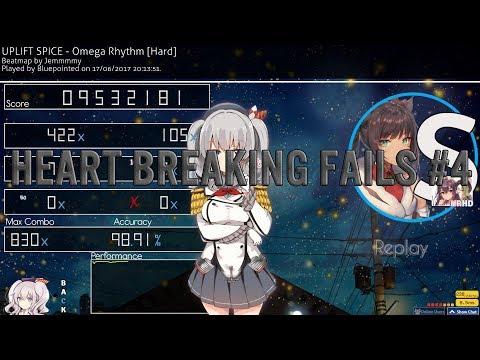 Osu! Heart Breaking Fails #4