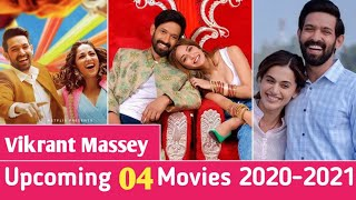 04 Vikrant Massey Upcoming Movies 2020-2021 || Ginny weds sunny Netflix || Haseen Dilruba Trailer ||