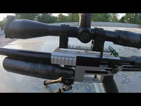 FX Impact .22 with STX 600mm Barrel shooting 18.13 grain JSBs @ 1050 fps