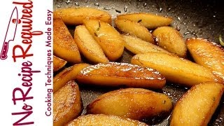 Sauteed Rosemary Apples - Noreciperequired.com