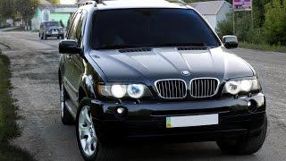 Жесткая погоня за BMW X5