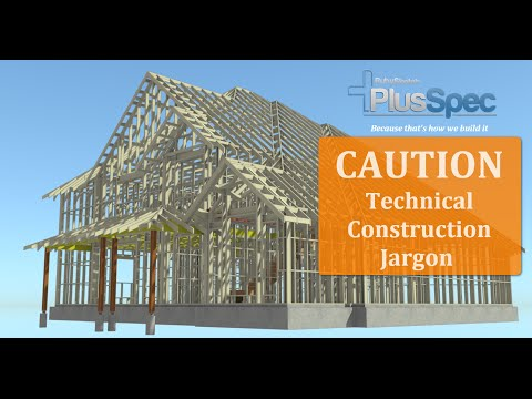 BIM/ VDC Structure in residential construction using PlusSpec for Sketchup.