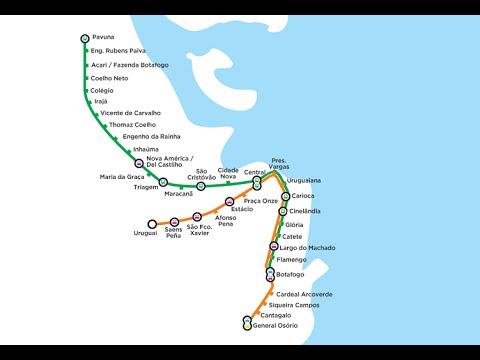 (Rio de Janeiro/RJ)  Metrô * Diário de Viagem