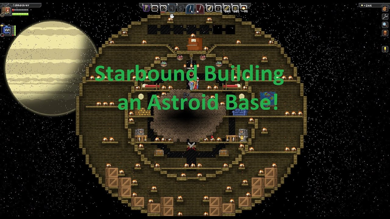 Cheats On Home Design Starbound Building An Astroid Base Part 1 Building Up