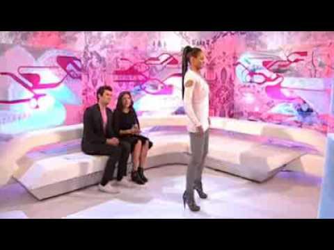 Ciara Shows How To Do Her Matrix Move