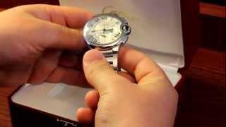 CARTIER BALON BLEU EDUCATIONAL VIDEO