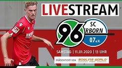 RE-LIVE: Hannover 96 vs SC Paderborn 07
