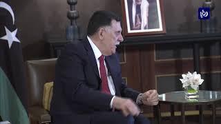 الملك عبدالله الثاني يجري مباحثات مع رئيس المجلس الرئاسي للحكومة الليبية - (2-12-2018)