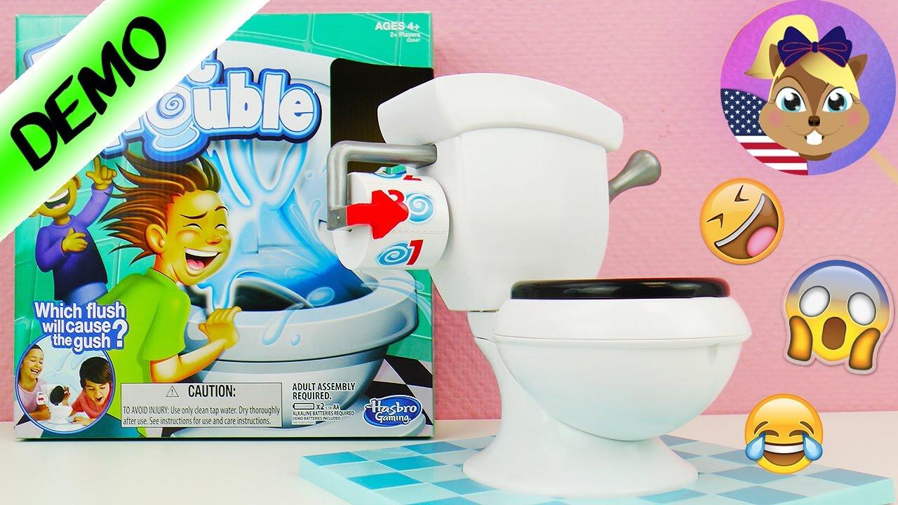 Toiletten Spiel