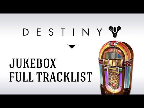 Destiny Jukebox Easter Egg : All tracks / Toutes les musiques