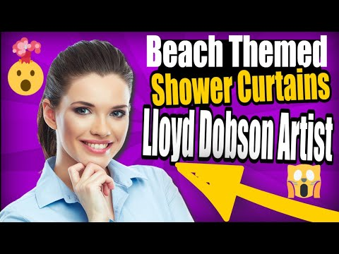 Beach Themed Shower Curtains - YouTube