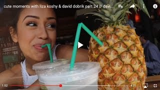 cute moments with liza koshy & david dobrik part 24 // davidxliza