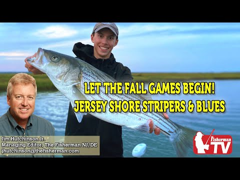 October 1, 2020 New Jersey/Delaware Bay Fishing Report With Jim Hutchinson, Jr.
