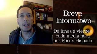 Breve Informativo - Noticias Forex del 8 de Diciembre del 2017