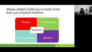 "TIPS ECHO FOUNDATION COURSE ON PALLIATIVE MEDICINE session on ""Psychosocial illness"""