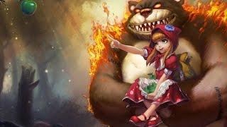 [LOL]実況 AnnieでRanked行ったら面白いPlayが...(笑える保証はありません)