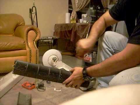 how to clean a  lasko tower fan