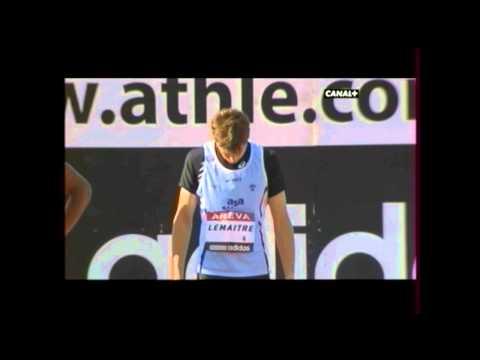 """Christophe Lemaitre - Record De France Du 100 M En 9""""92 - Albi 29/07/2011"""