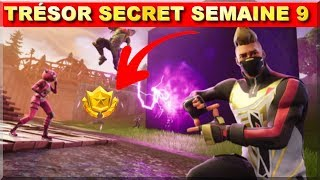 SECRET STAR WEEK 9! ROAD TRIP! FREE BANNIERE! FORTNITE BATTLE ROYAL!