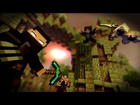 """""""Never Give Up"""" A Minecraft Original Music Video ♪"""