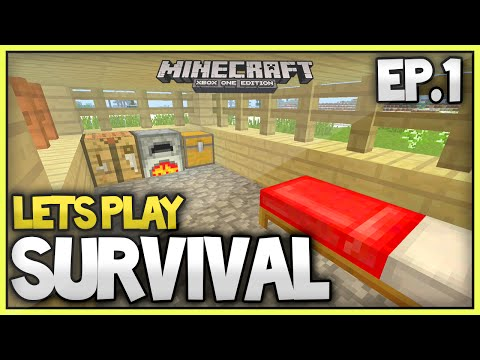Minecraft Xbox One New Survival Lets Play - Episode 1 (TU31!)