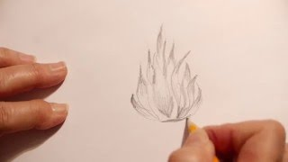 How to Draw Fire(A quick and easy way to draw a fire. Materials Needed: Paper & Pencil Please check out our other pop-ups and videos which can be found under our channel., 2016-01-31T23:28:22.000Z)