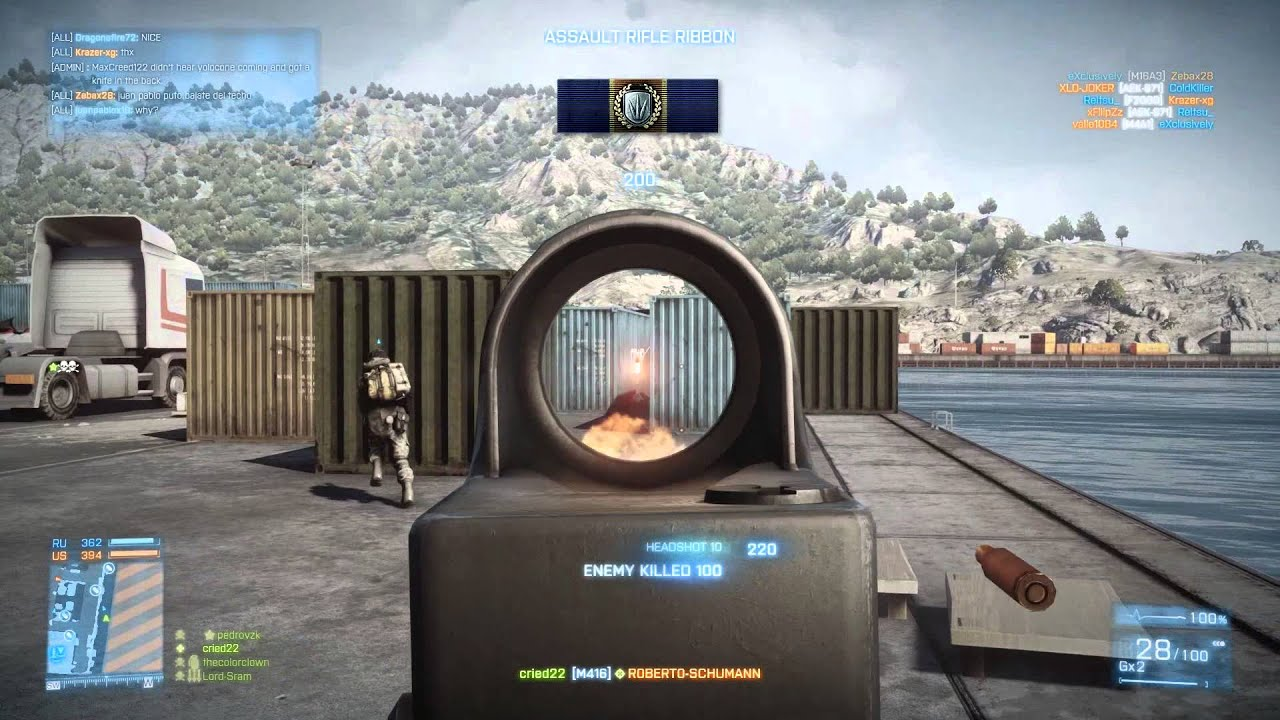 Battlefield 3 4k 60fps Youtube