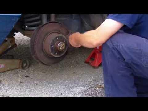 Mercedes Wheel Bearings & Brake Job  Part 1  YouTube