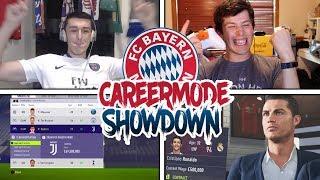 SIGNING RONALDO 💯 FIFA 18 CAREER MODE SHOWDOWN!! vs. ElyytFIFA (Bayern Munich)