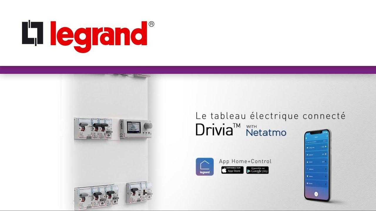 Drivia with Netatmo, le tableau électrique connecté de Legrand