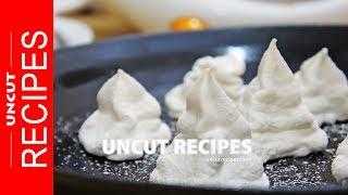 ☑️ Meringue Bites Recipe | Uncut Recipes