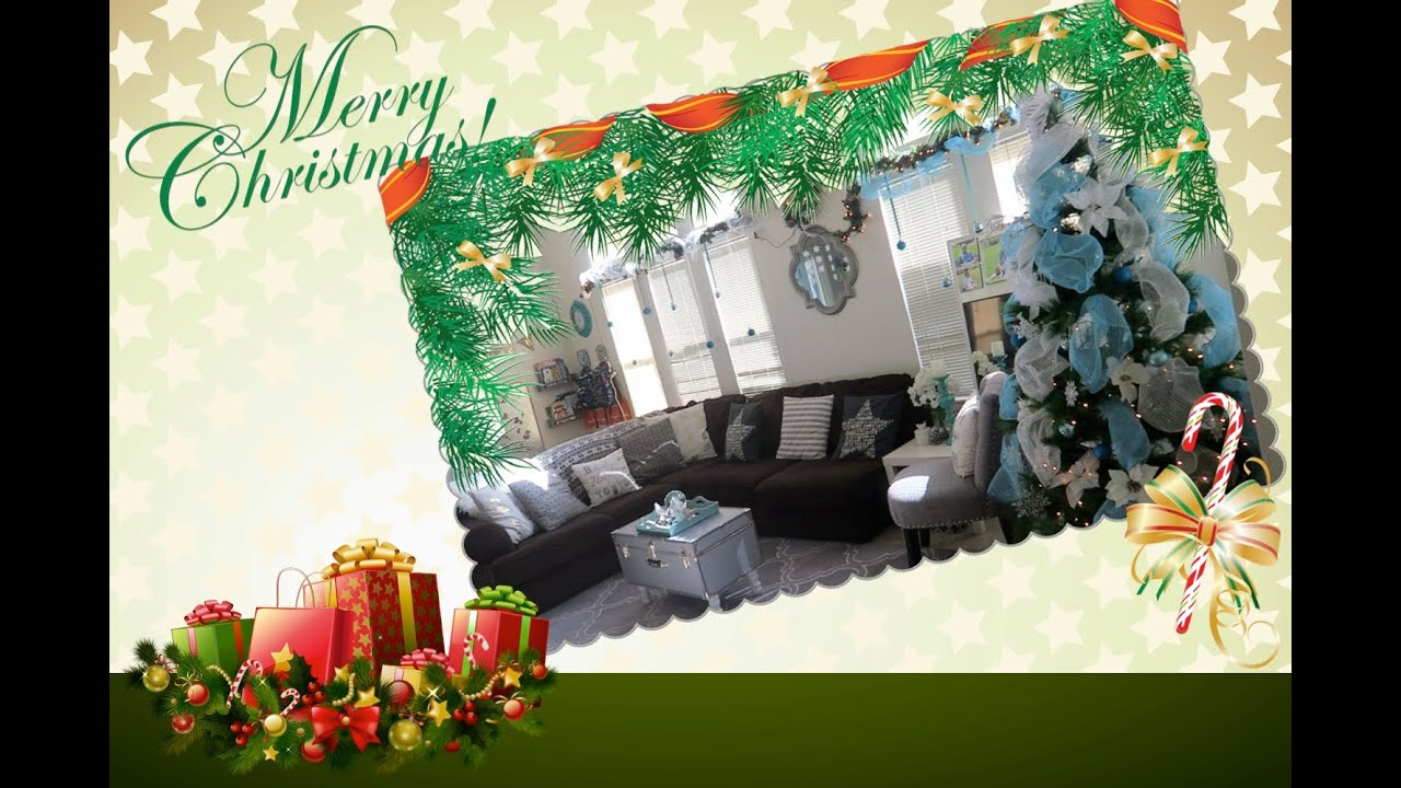 my christmas home decor tour 2015 alyssafaye youtube