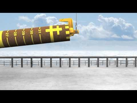 StabFrame Animation for Subsea Pile Driving