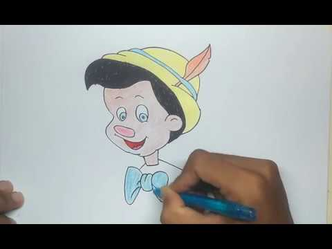 How To Draw Pinocchio Step By Step