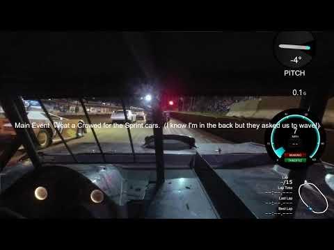 Cherokee  Speedway Limited Sportsman 9-23-17 (Main starts at 3:39 )