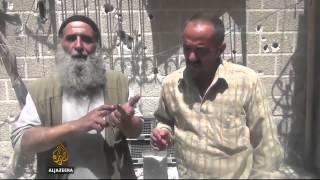 Civilian victims of Syria