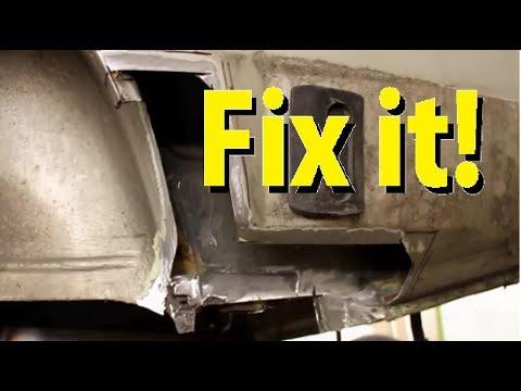 Rust Repair on the VW Fox !