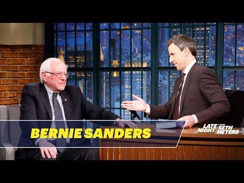 "Sen. Bernie Sanders Says Donald Trump's ""Ugly Decisions"" Will Fail"