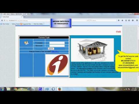 Online Mobile Banking - Java