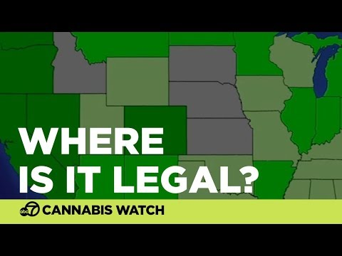 MAP: Where Is Weed Legal?
