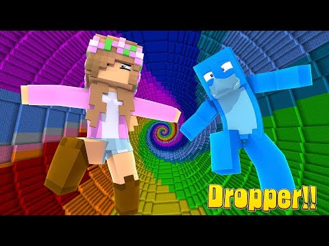 THE 10 DROP CHALLENGE! | Minecraft Little Kelly Plays