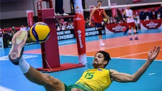 Craziest Saves   Amazing Rally Actions  Men's Volleyball World Cup 2019 (HD)