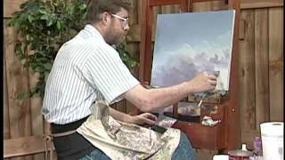 Painting clouds and thunderheads with Jerry Yarnell (29 minute episode)