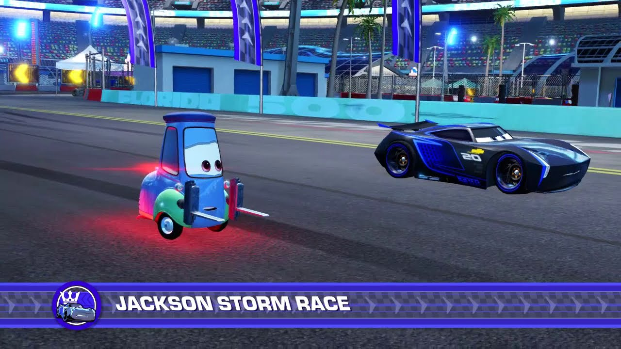 cars 3 driven to win ps4 guido vs jackson storm. Black Bedroom Furniture Sets. Home Design Ideas
