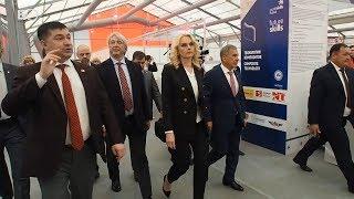 Голикова и Минниханов осмотрели площадки чемпионата WorldSkills Russia в Казани