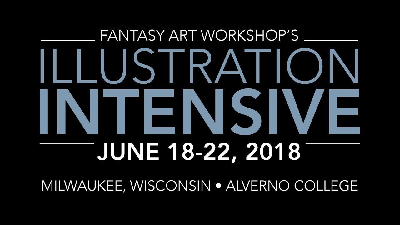 Illustration Intensive 2018 – Fantasy Art Workshop