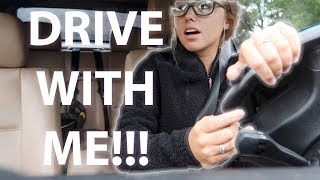 DRIVE WITH ME TO SCHOOL!