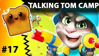 TALKING TOM CAMP - Kot Tom level 16