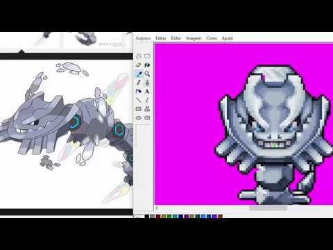 Desenvolvimento da Sprite do Mega Steelix