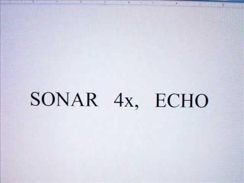 SONAR 4X, ECHO, Sound for mobile, Mp3